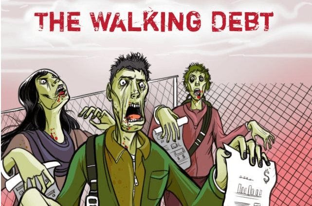 walking debt