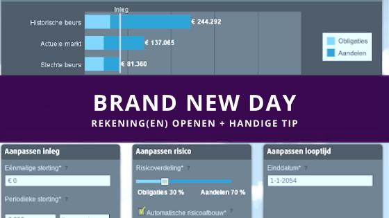 brand new day rekening openen