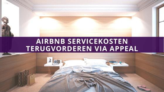 Airbnb servicekosten appeal