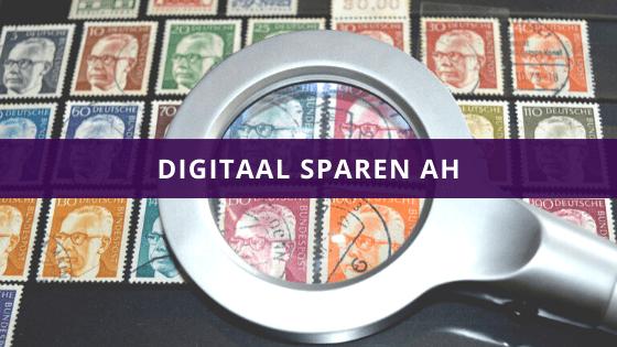 Digitaal sparen AH