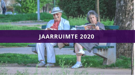 Jaaruimte berekenen 2020
