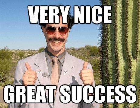 Very nice great succes via imgur.com