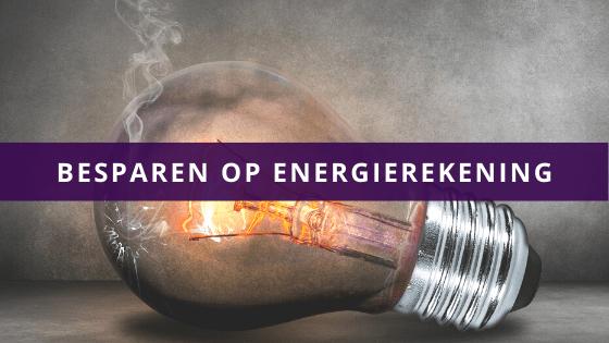 Besparen op energierekening
