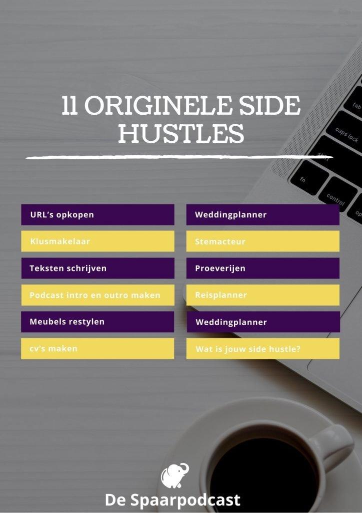 11 originele side hustles