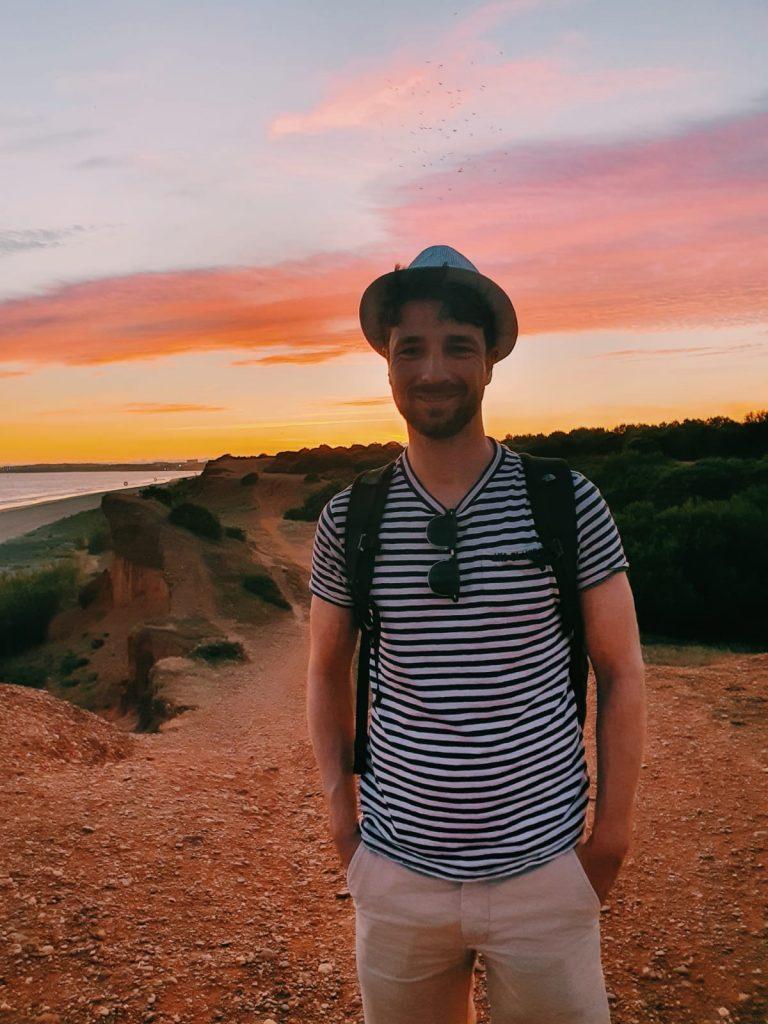 Ik in Portugal